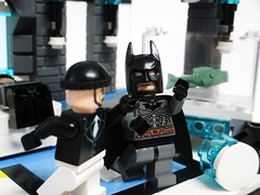 Iceberg Lounge Battle (Julius No) Tags: penguin lego lounge batman vs iceberg