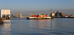 Woolwich Ferry, Ernest Bevin (Grant Silvester) Tags: london thames work ships lorry sainsburys woolwich e16 tatelyle se18 vehicleferry