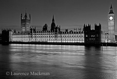WestminsterBridge 377 E W BW (laurencemackman) Tags: uk london westminster thames facade river riverside gothic housesofparliament parliament government perpendicular houseoflords palaceofwestminster houseofcommons charlesbarry cityofwestminster augustuspugin