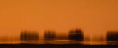 Orange (Brînzei) Tags: sunset shadow orange reflection water m42 manualfocus nightwatch goldenhour bucurești canoneos400d komz jupiter37a135mmf35 parculherăstrău