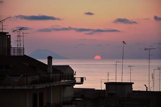 Stromboli, tramonto