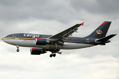 Royal Jordanian Cargo Airbus A310-304(F) JY-AGR LHR 18-05-13 (Axel J. - Aviation Photography) Tags: london airport heathrow aircraft aviation airline airbus flughafen flugzeug aeropuerto flugplatz avion lhr airfield aviao aviones vliegtuig aviacin luftfahrt luchthaven a310 fluggesellschaft royaljordaniancargo jyagr