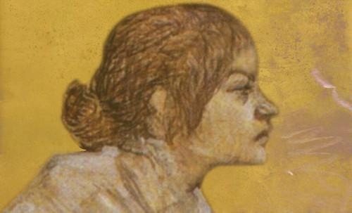 "Las Madeleines escuchando la soleada soledad, descripciones de Henri de Toulouse Lautrec (1889) y Pablo Picasso (1904). • <a style=""font-size:0.8em;"" href=""http://www.flickr.com/photos/30735181@N00/8815724004/"" target=""_blank"">View on Flickr</a>"