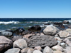 From another time (syfractal) Tags: park ontario rocks georgianbay boulders awenda provincialparks awendapark