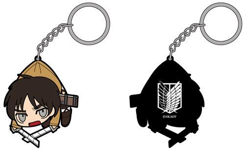 「進擊的巨人」版「拎」起來吊飾鑰匙圈!