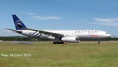 EC-LNH Airbus A330 Air Europa Skyteam Edinburgh July 2013 (pmccann54) Tags: skyteam eclnh airbusa330aireuropa