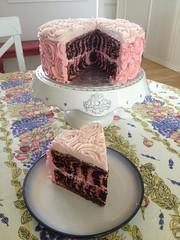 Zebra Cake by Elicia, Santa Cruz, CA, www.birthdaycakes4free.com