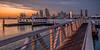 San Diego View (mojo2u) Tags: california sunset ferry skyline bay harbor ramp cityscape sandiego coronado boatdock sandiegoskyline nikon2470mm nikond800