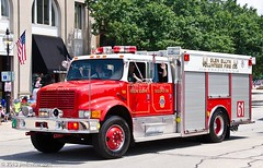 Glen Ellyn Volunteer Fire Company - Squad 38 (Jim Frazier) Tags: red people metal truck silver illinois shiny iron mechanical steel smooth engine july glenellyn heavymetal parade il equipment firetruck machinery vehicles chrome trucks fireengine machines q3 apparatus devices 2013 ldjuly jimfraziercom wmembed ld2013 20130704glenellynparade