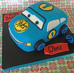 Baby Car Cake