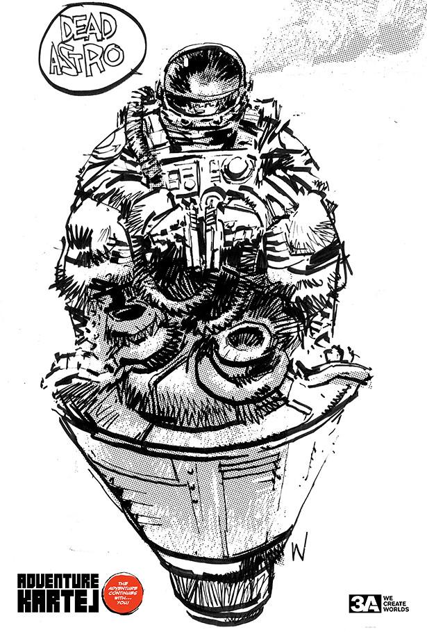 threeA - 死亡太空黑幫 / Dead Astronaut Gangsta