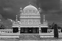 Gumbaz - Tipu's mausoleum (Saurav Pandey) Tags: bw india monument architecture mausoleum karnataka hdr srirangapatnam tipusultan gumbaz hyderali