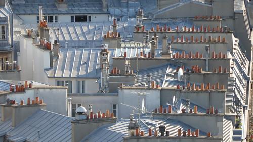 die Dächer von Paris