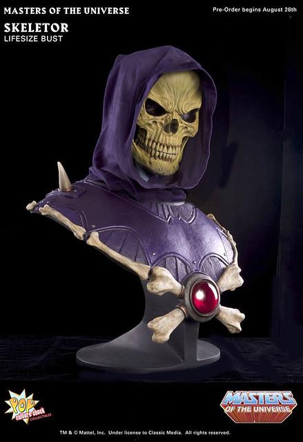 太空超人 骷髏王  1:1尺寸的胸像收藏