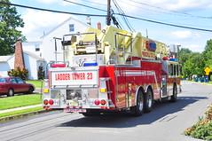 Lawrenceville Fire Company Ladder Tower 23 (Triborough) Tags: tower simon newjersey nj firetruck duplex fireengine ladder mercercounty lawrenceville lfc lti towerladder ladder23 tower23 lawrencetownship simonduplex towerladder23 laddertower23 lawrencevillefirecompany