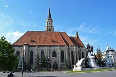 St Michaels church on main square of Kolozsvr / Cluj-Napoca (toma foto) Tags: outstandingforeignphotographersvisitingromania