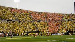 Autzen Stadium (kellimatthews) Tags: green college yellow oregon football university ducks nike coaching