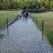 Maya Lin, Vietnam Veterans Memorial, entrance