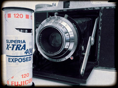 Adox: The Resurrection (tj.blackwell) Tags: old 120 film sports golf technology superia iso 400 vintagecamera bellows exposed inherited revival foldingcamera superiaxtra adox adoxar resurrrection adoxgolfiii
