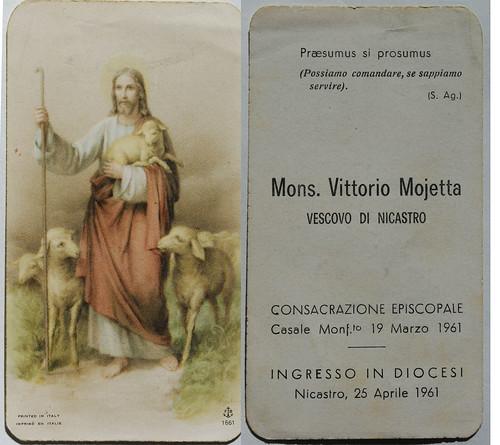 1961 Consacrazione Episcopale Mons Vittorio Moietta