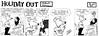 Holiday Out 803 (Michael Vance1) Tags: art radio comics rat artist satire humor comicbook parody comicstrip satyr cartoonist funnyanimals