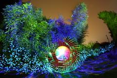 Another 10 Minute Painting (tackyshack) Tags: light lightpainting umbrella painting bamboo lp gels dlw lightpainter lightphotography monkeylight tackyshack digitallightwand ©jeremyjackson