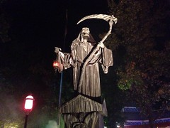 Reaper (zcev5454) Tags: halloween st louis scary grim reaper flags demon fest six fright sixflagsstlouis uploaded:by=flickrmobile flickriosapp:filter=nofilter