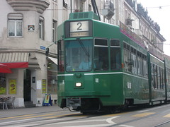 Space Invader BSL_13 (tofz4u) Tags: streetart tile schweiz switzerland suisse mosaic spaceinvader spaceinvaders tram basel invader svizzera bale transportencommun tramway basle mosaque artderue basilea bsl13