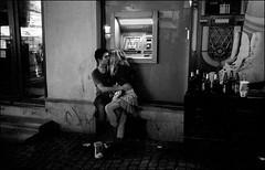 Bucarest (Punkrocker*) Tags: street leica city travel people film night 35mm kodak trix nb 1600 summicron romania pushed bucharest asph bucuresti roumanie m7 bucarest 352 bwfp