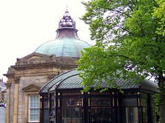 Royal Pump Room Museum, Harrogate, North Yorkshire (teresue) Tags: uk greatbritain england museum unitedkingdom yorkshire roofs harrogate northyorkshire pumproom 2013 royalpumproommuseum