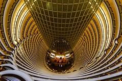 The Lobby (voxpepoli) Tags: shanghai hotel hall lobby emptyspace jinmaotower skyscraper pudong tower symbol shanghaigrandhyatthotel