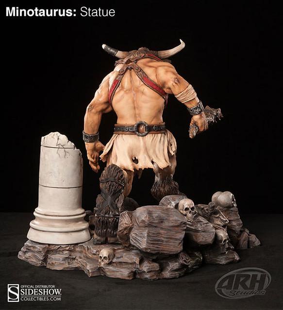 經典迷宮魔王牛頭怪米諾陶斯雕像推薦