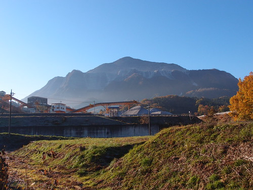 Mount Bukou @ Road fom Yokoze station to Ontake Shrine Torii @ Chichibu
