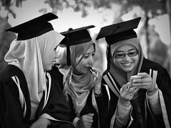 convo girls 1 (e h s a n) Tags: portrait blackwhite malaysia putrajaya rokkor minoltamdrokkorx50mmf17