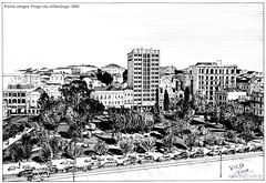 Porto Alegre Praça da Alfândega 1930