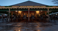 Early Morning Cafe (Scott Mohrman Photography) Tags: scott square photography cafe neworleans jackson frenchquarter nola cafedumonde crescentcity bigeasy mohrman followyournola