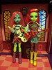 Let's Start a Punk Band! (Dollsville USA) Tags: camera girl monster high punk venus action couture frights threeeyed mystixx mcflytrap scaremester