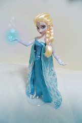 Elsa OOAK doll ~Snow Crystal 001~ (Kitten_Blue_777) Tags: anna snow froze