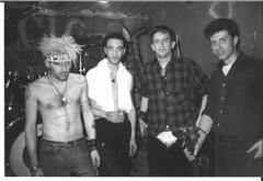 CCM, april 1987 at the Marbel Club, Tielt, Belgium, photo by Kockie de Kock