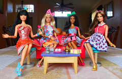 Tea TIme (J.Garibay) Tags: baby cute fashion doll dolls time tea fierce barbie style oh teresa sis marissa lanta basics mattel phat fashionistas stardoll raquelle