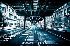 Jewelers Row (Bryan Nabong) Tags: road street chicago train illinois downtown unitedstates traintracks streetphotography theel northamerica jewelersrow
