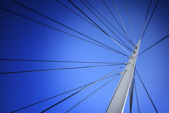 Cable Abstract (dlanglois2) Tags: abstract architecture colorado creative bridges places denver