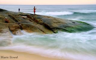 Pescadores no Recreio dos Bandeirantes - Rio de Janeiro