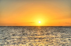 HDR - 438paint (mastrfshrmn) Tags: ocean sea panorama sun moon beach water colors canon stars island photo sand scenery paradise belize picture palmtrees hut photograph cabana tropical hdr kayaks centralamerica atoll 70d turneffeisland turneffeatoll blackbirdcaye