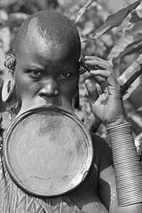 Surma Ethiopia36 (Olivier DARMON) Tags: africa portrait white black noir skin african details tribal tribes tribe nudity et scarification femmes afrique oubliés blancblack africantribes olivierdarmon detailsethiopia incisiondelapeau lasttribes