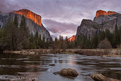 Fiery Gates (Robin Black Photography) Tags: light sunset fall classic beauty landscape fire nationalpark ngc valley yosemite yosemitenationalpark sierras bridalveil elcapitan sierranevada iconic naturesbest valleyview alpenglow highsierra nationalgeographic mercedriver elcap gatesofthevalley rangeoflight outdoorphotographer canon6d robinblackphotography