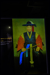 DSC_7130adr Korean Admiral YI Sun -shin who defeated Japanese fleet, during Japanese invasion,16th century (camera30f) Tags: sun japan japanese yahoo google war holidays asia flickr photos navy korea admiral baidu dynasty yi shin joseon