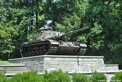 Army Tank (Jake (Studio 9265)) Tags: usa west green point army us tank display kentucky ky military united stop rest states 1962 westpoint m60a1