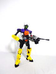 Unit 005 (Johann Dakitsch) Tags: robot factory lego hero bionicle android mech moc