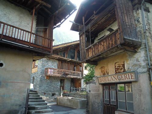 Ste-Foy-Tarentaise, hameau de la Masure © D. Dereani - Fondation Facim